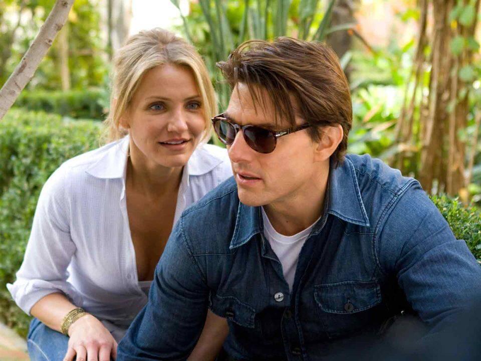 Encontro Explosivo - Ao lado de Tom Cruise, Cameron Diaz vive um romance perigoso e agitado que envolve a todos que assistem (Foto: Divulgação)