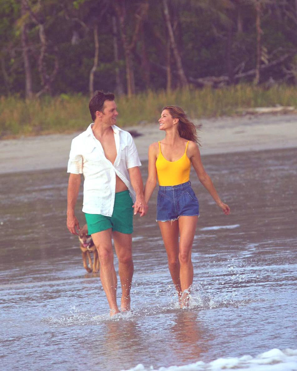 Gisele Bündchen com o marido Tom Brady (Foto: Reprodução / Instagram)