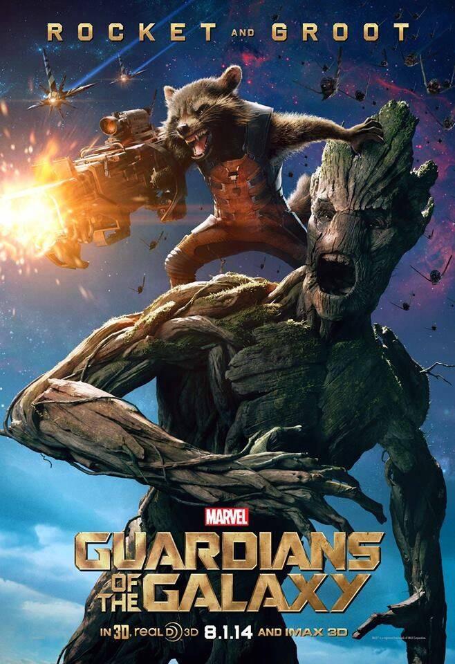 Senhor das Estrelas, Gamora, Drax, Rocket Raccoon, Groot, Mantis, e Nebulosa. (Foto: Reprodução/ Marvel)