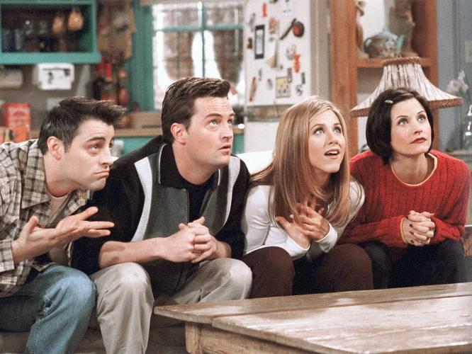 Friends - Essa série de comédia gira em torno de um grupo de amigos e conta com muitas aventuras (Foto: IMDb)