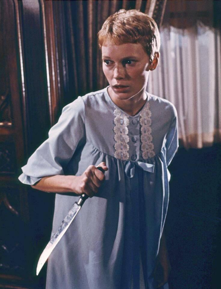 Um ano depois do lançamento do filme, em 1969, a esposa de Polanski, Sharon Tate, foi assassinada. (Foto: Reprodução/ Pinterest)