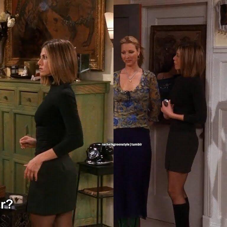 A saia justa era sua marca (Foto: Reprodução/ Pinterest)