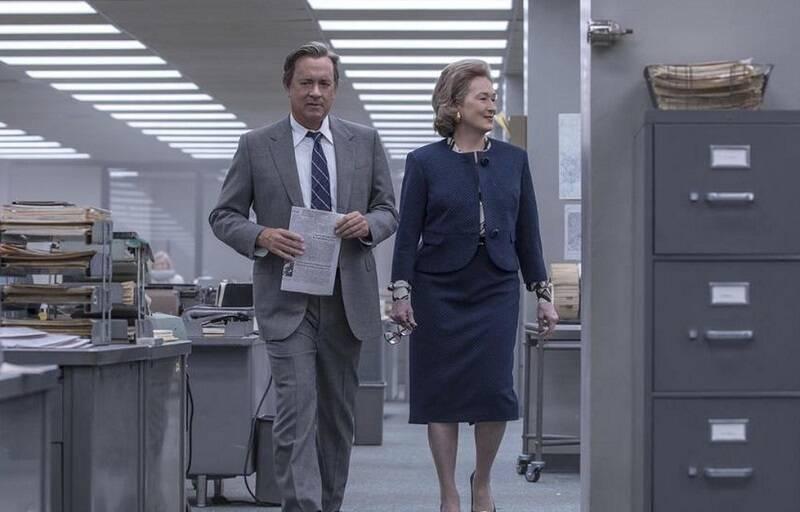 """""""The Post – A Guerra Secreta"""": O filme conta uma história real dos editores do Washington Post. A trama acompanha a jornada de Katharine Graham e Ben Bradlee para publicar uma série de reportagens revelando segredos do governo norte-americano. (Foto: Divulgação)"""