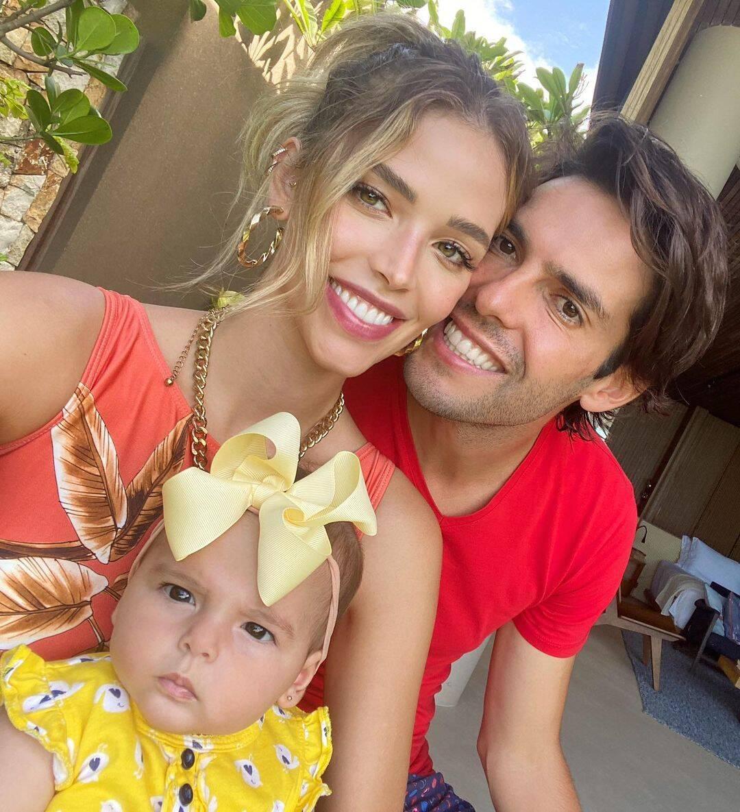 Esther é filha do ex-jogador de futebol Kaká. (Foto: Instagram/ @diasleite)