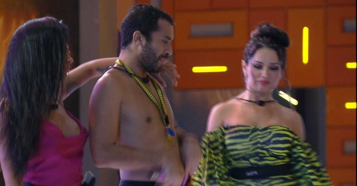 Os brothers dançaram bastante (Foto: Reprodução/Globo)