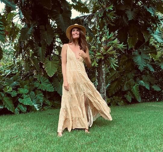 Quanto mais confortável e fresco for o vestido, melhor. (Foto: Instagram/ @isabellafiorentino)