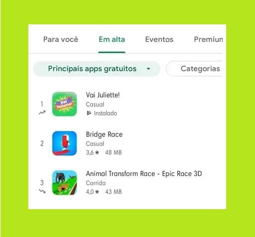 O jogo já é um sucesso e se tornou o mais baixado da Play Store na última terça-feira, 27. (Foto: Reprodução)