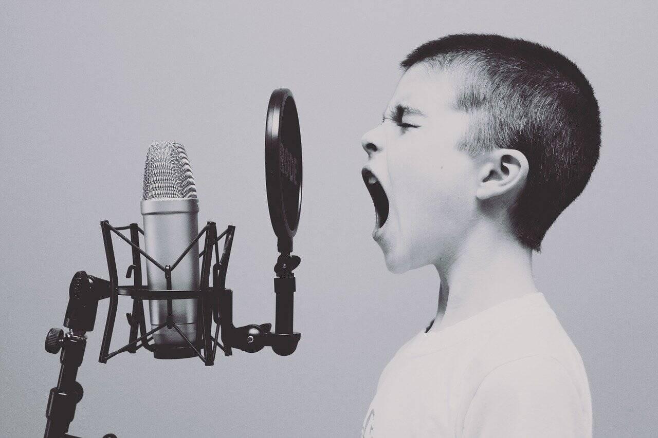 Tenha cuidados com a sua voz: não grite em excesso nem em tom agudo (Foto: Pixabay)