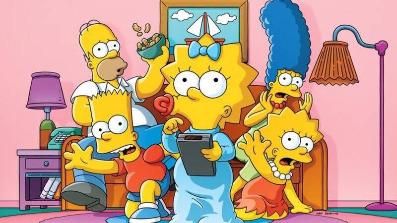 Os Simpsons - Essa animação gira em torno da família