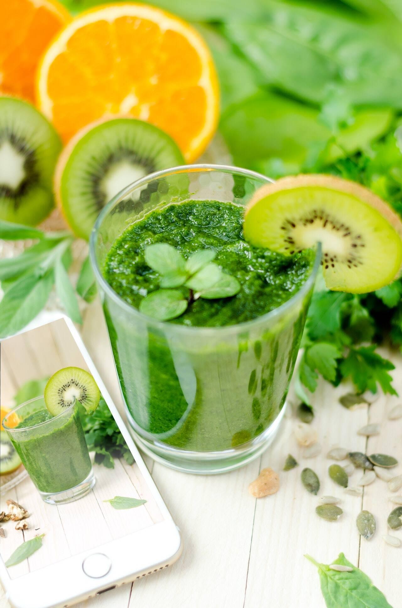7. Suco verde (Foto: Pexels)