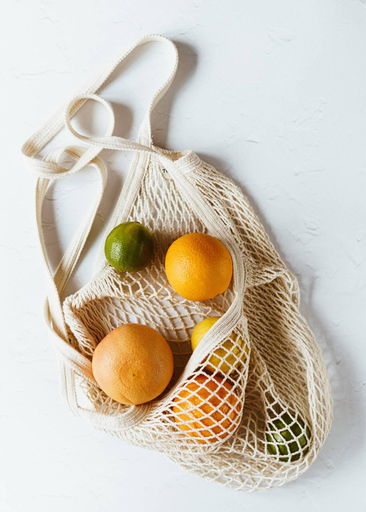 2. Frutas não ácidas (Foto: Pexels)