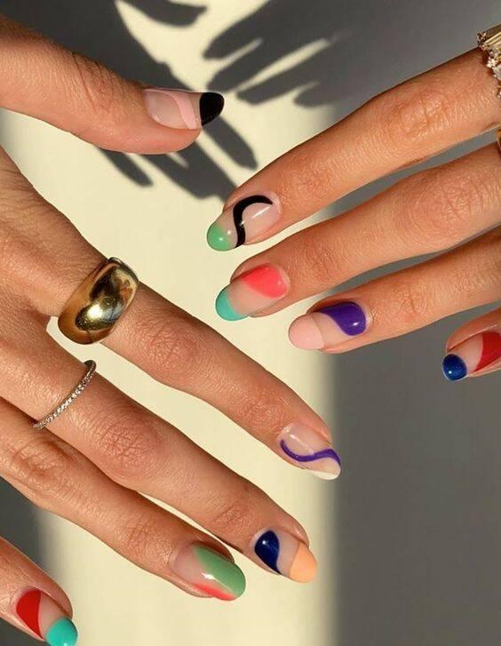 E até uma mistura de cores. (Foto: Reprodução/ Pinterest)