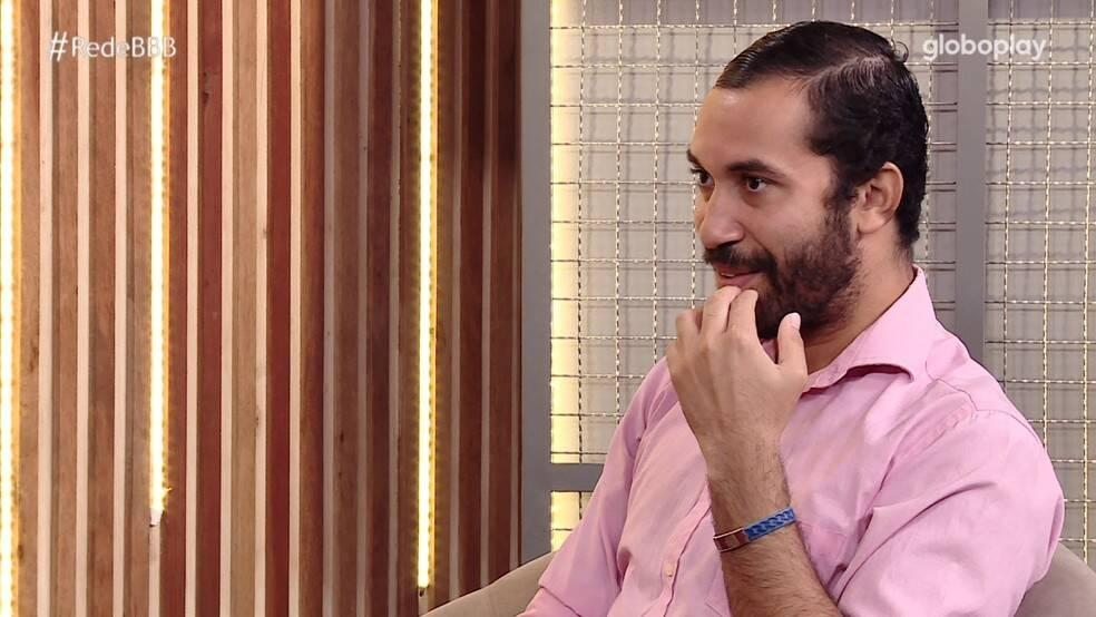 Por falar em amizade, Gilberto também comentou a relação com Juliette e o fim do 'G3'. (Foto: Globo)