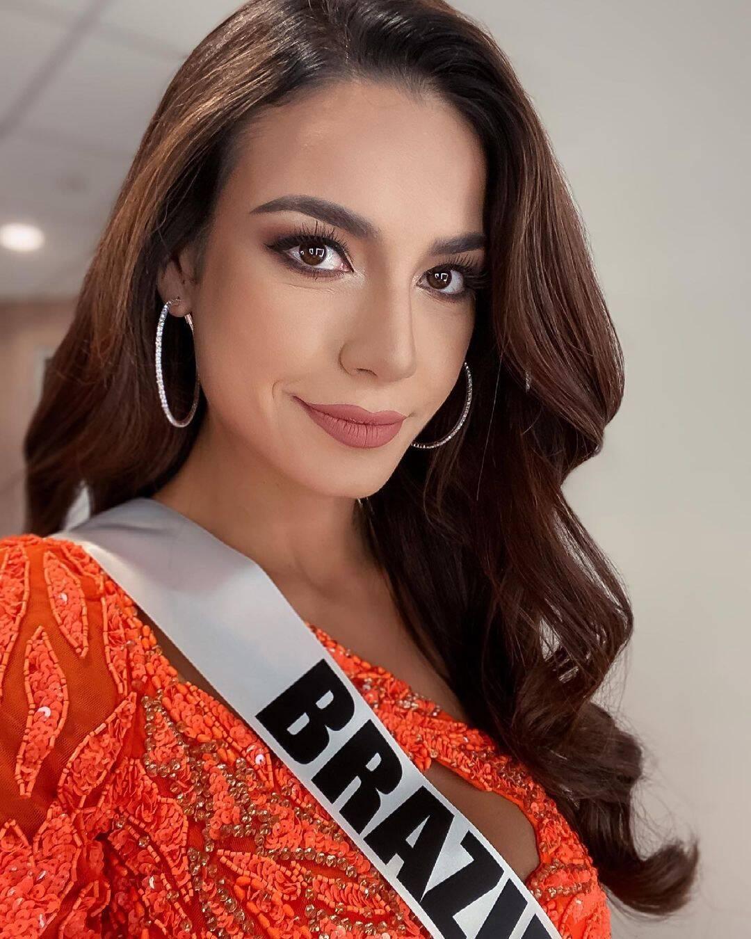 O Brasil chegou perto do primeiro lugar no concurso Miss Universo 2021. (Foto: Instagram/ @juliawgama)