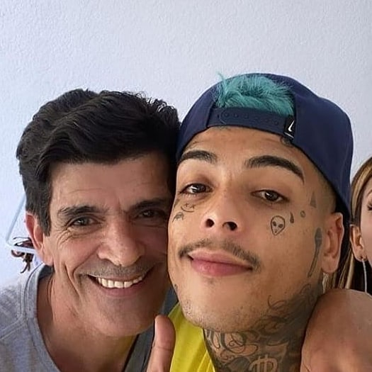 Agnaldo Bueno e MC Kevin (Foto: Instagram)