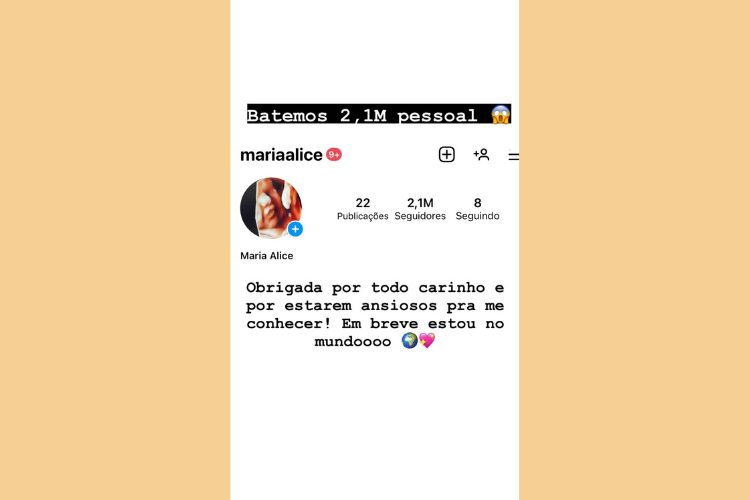 Na última quinta-feira (27), Virginia celebrou o marco no Instagram da filha. (Foto: Instagram)