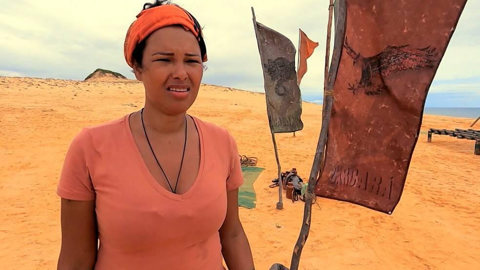 Ariadna nimmt nicht am Testen des Franchise teil.  (Bild: Globo)