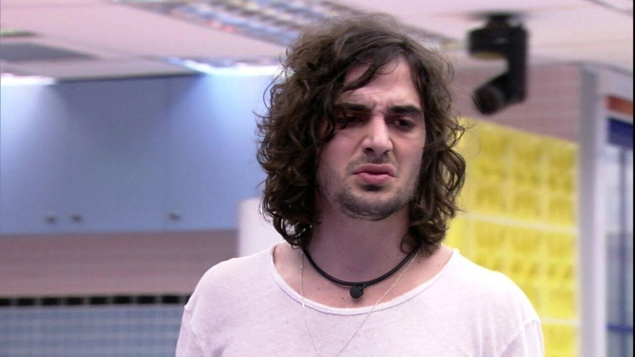 Fiuk aparece em 1° lugar entre os mais odiados (Foto: Reprodução/Globo)