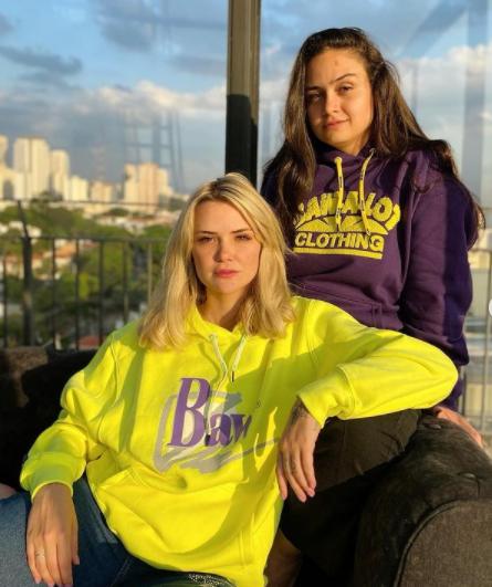 Marcela e Luiza sempre estão trocando declarações na mídia (Foto: Instagram/ @marcelamcgowan)