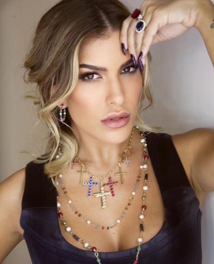 Lore é casada com o cantor Léo Santana (Foto: Instagram/ @loreimprota)