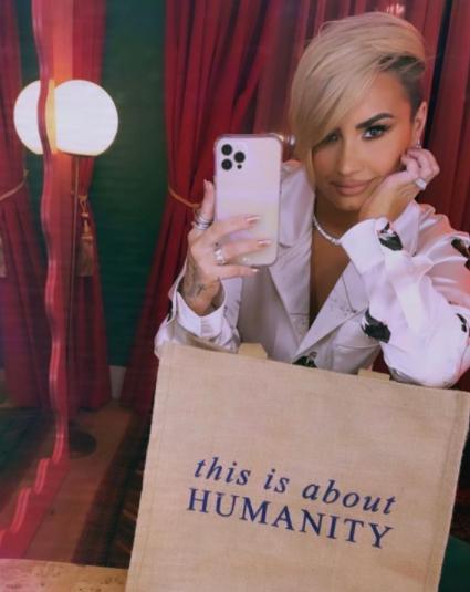 Demi foi uma das estrelas da Disney (Foto: Instagram)