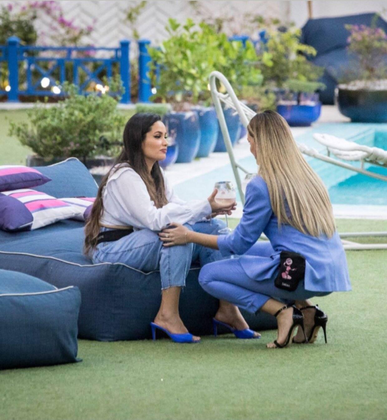 A relação entre Juliette e Sarah foi cheia de altos e baixos no BBB21. (Foto: Reprodução/ Globo)
