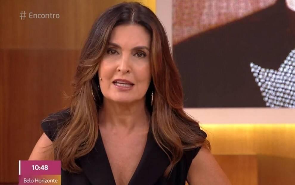 Nesta sexta-feira (07) a apresentadora Fátima Bernardes foi surpreendida (Foto: Reprodução/ Globo)