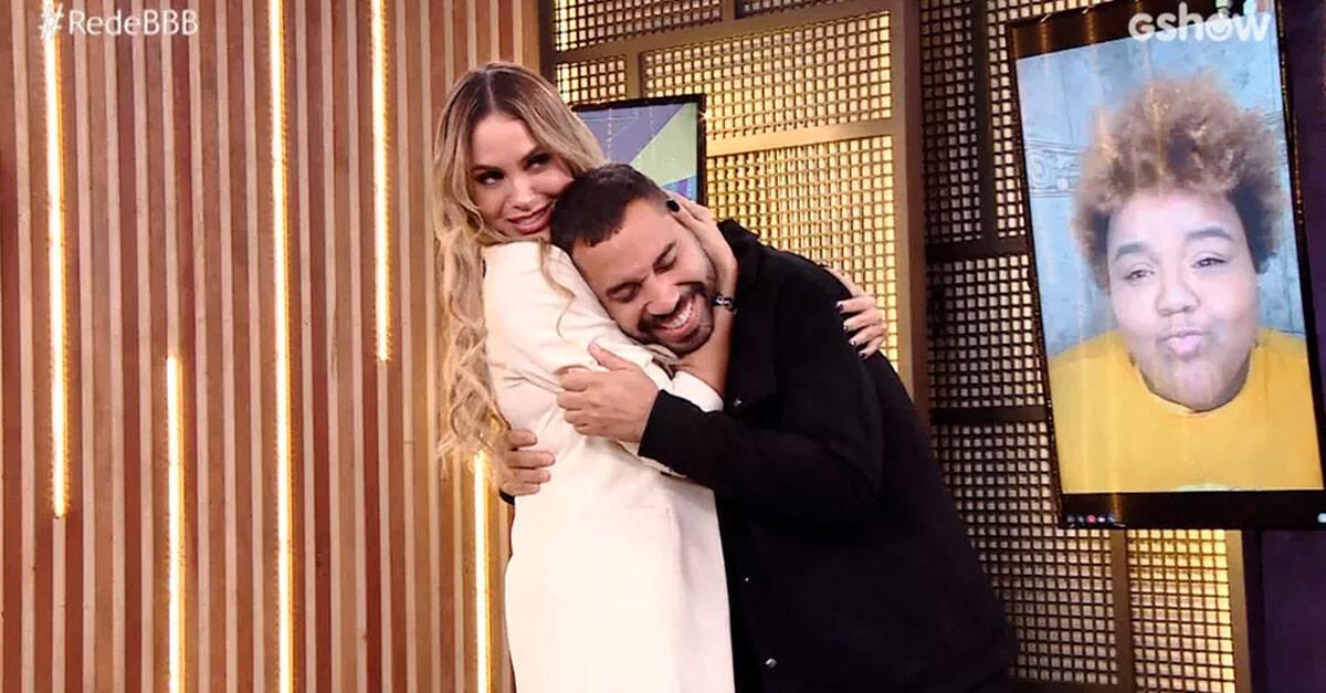 A TV Globo comemorou a contratação do brother em seus perfis e deu boas vindas ao participante. (Foto: Reprodução/ Globo)