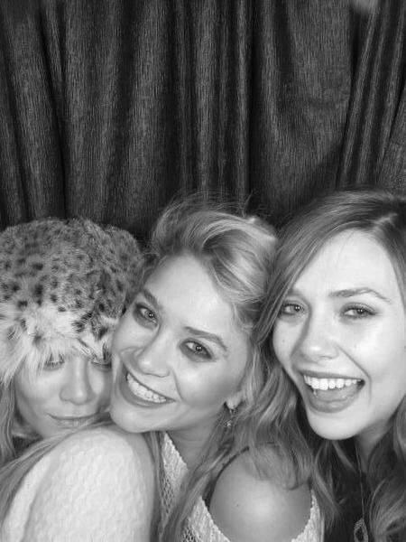 Mary-Kate Olsen, Ashley Olsen e Elizabeth Olsen(Foto: Reprodução/ Pinterest)