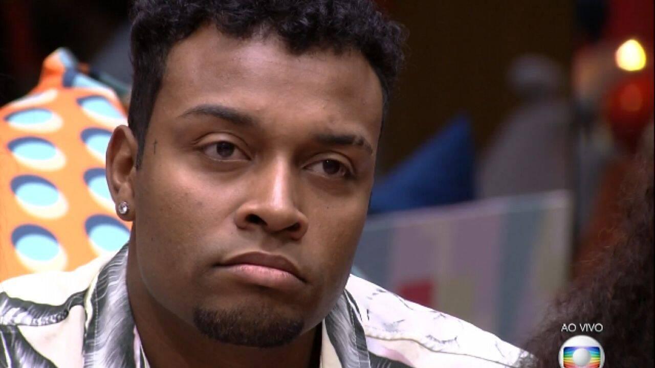 Nego Di foi o terceiro eliminado do BBB 21 (Foto: Globo)