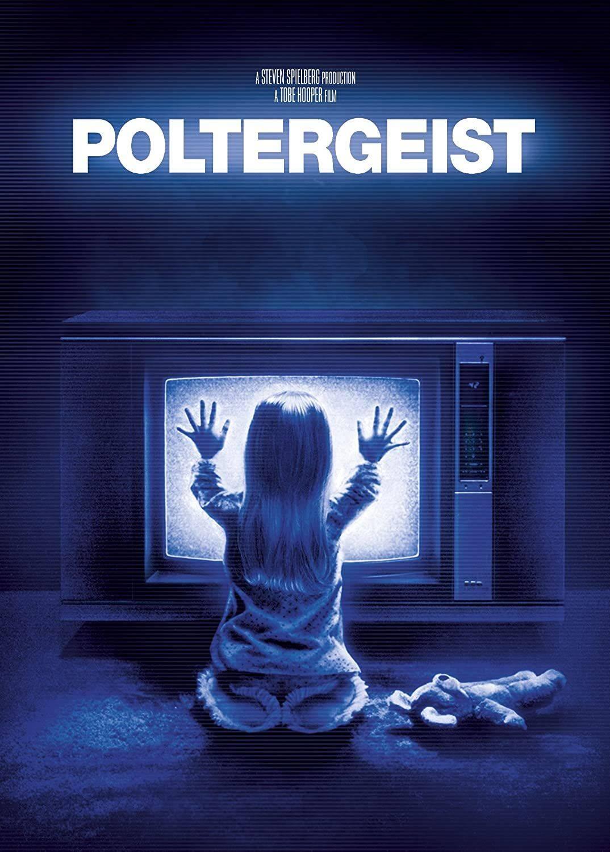 Poltergeist - Pouco tempo depois da estreia do primeiro filme, uma das protagonistas morreu. Era Dominique Dunne, de 22 anos. Ela foi estrangulada por um namorado. (Foto: Reprodução/ Pinterest)
