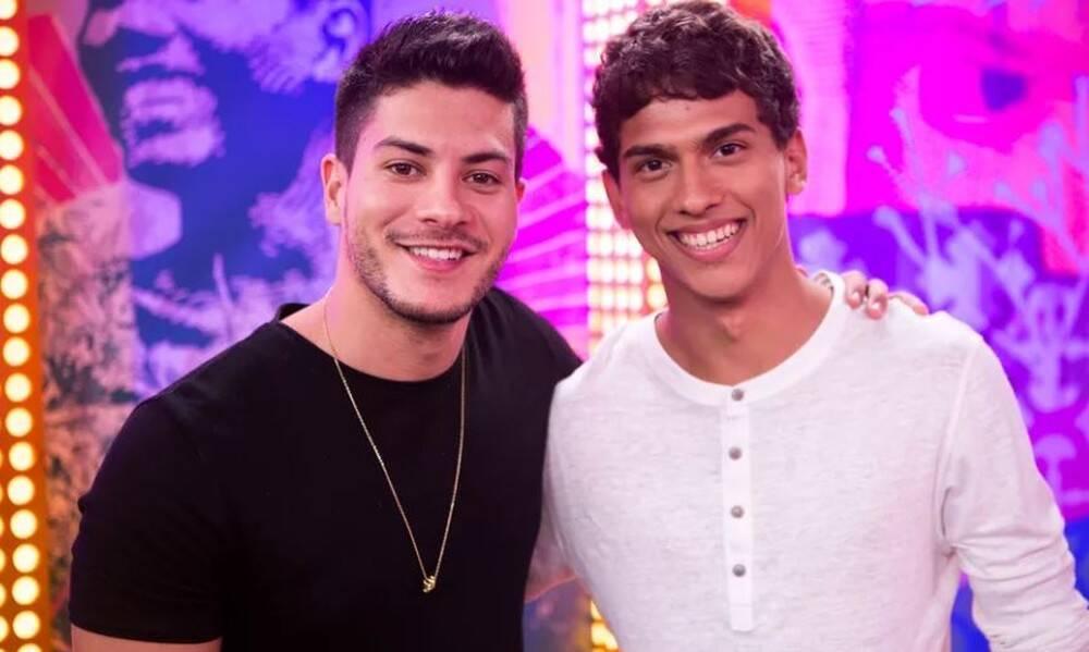 Arthur e Ruan Aguiar (Foto: Reprodução/ Globo)