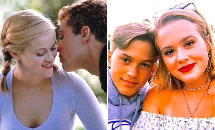"""Reese Whiterspoon e Ryan Phillippe - Os protagonistas do filme """"Segundas Intenções"""" foram casados de 1999 e 2006 e tem dois filhos: Deacon, de 17 anos, e Ava Elizabeth, de 21 anos. (Foto: Reprodução/ Instagram)"""