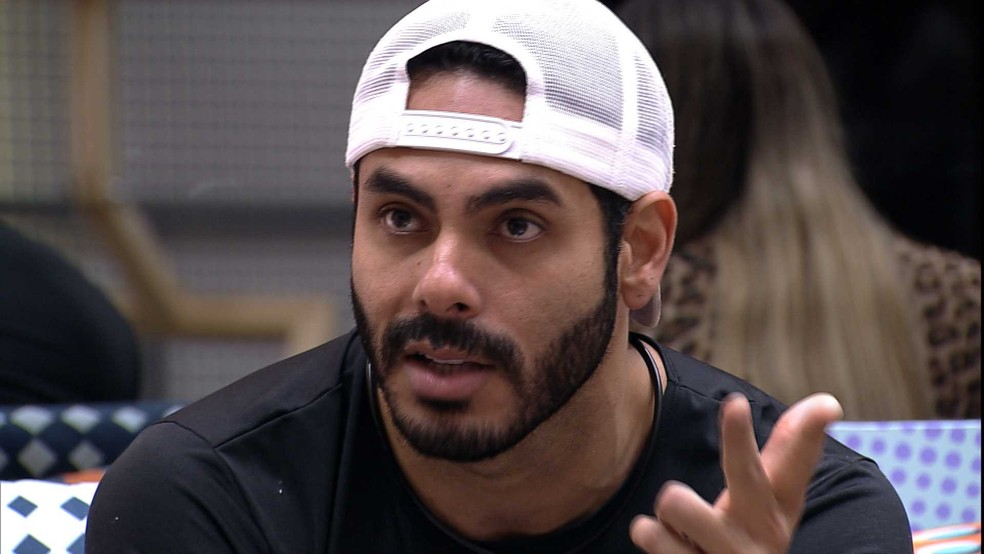 Já Rodolffo foi o 9° eliminado (Foto: Reprodução/Globo)