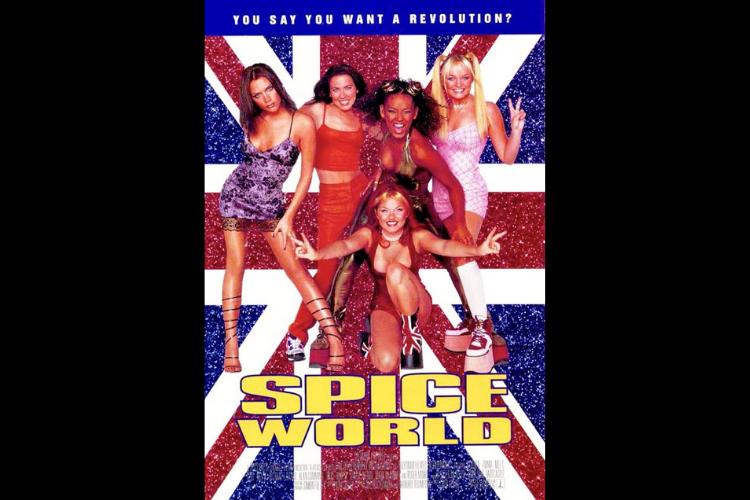 """""""Spice World - O Filme"""" primeiro filme foi lançado em 1997. (Foto: Divulgação)"""