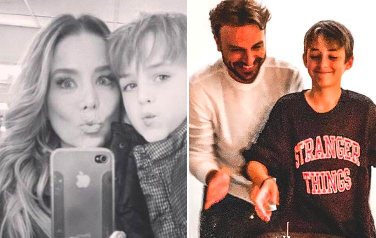 Danielle Winits e Cássio Reis - Eles foram casados por cinco anos e tiveram Noah, de 13 anos. (Foto: Reprodução/ Instagram)