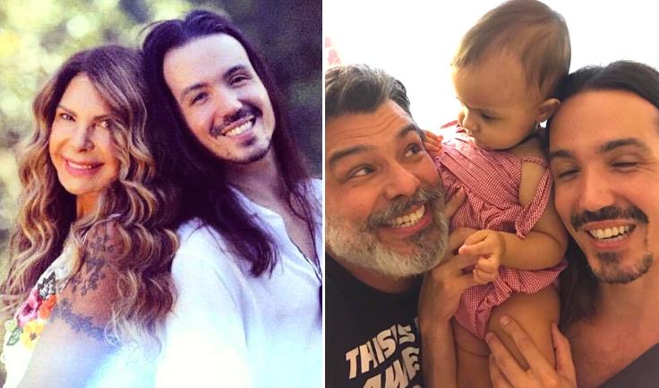 Elba Ramalho e Maurício Mattar - O compositor e produtor musical Luã Mattar é filho de Elba e Maurício, que foram casados no final da década de 80. (Foto: Reprodução/ Instagram)