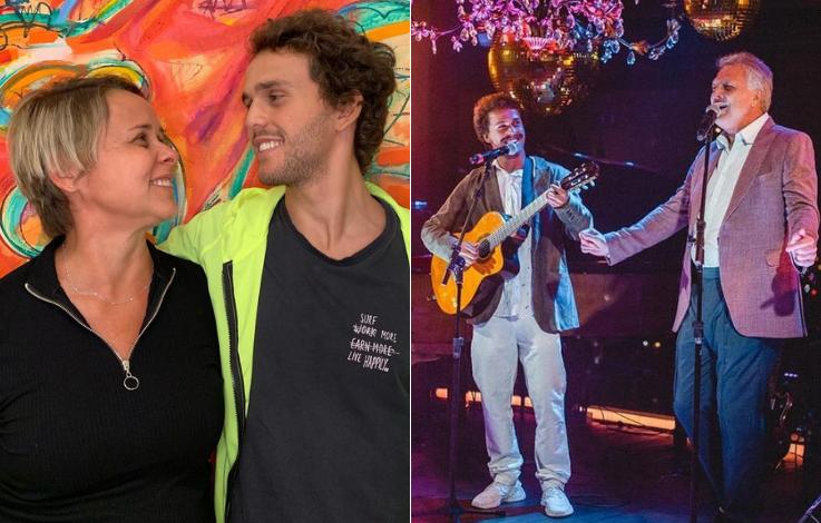 Giulia Gam e Pedro Bial - Giulia Gam e Pedro Bial ficaram juntos por quatro anos e são pais do músico Theo Bial, de 23 anos. (Foto: Reprodução/ Instagram)