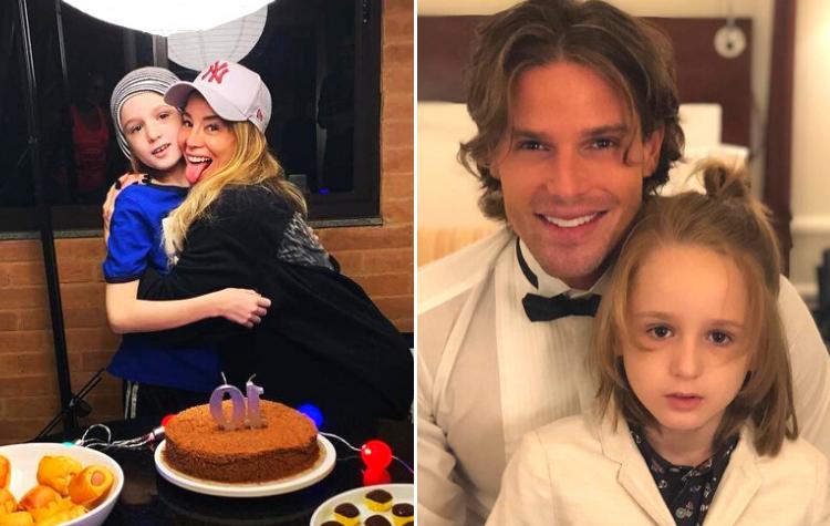 Danielle Winits e Jonatas Faro - Os atores ficaram juntos por quase um ano e são pais de Guy, de 10 anos. (Foto: Reprodução/ Instagram)