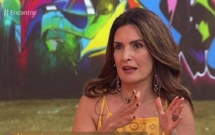 Fátima criticou a realização do evento em meio à pandemia do Coronavírus (Foto: Reprodução/ Globo)