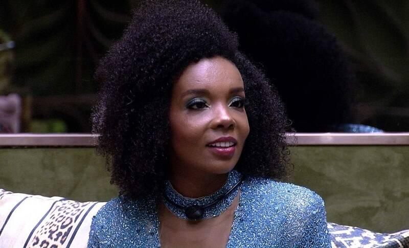 Thelma Assis conquistou o 1º lugar do BBB 21 com 44% dos votos, contra 34% de Rafa, que ficou em segundo lugar. (Foto: Globo)