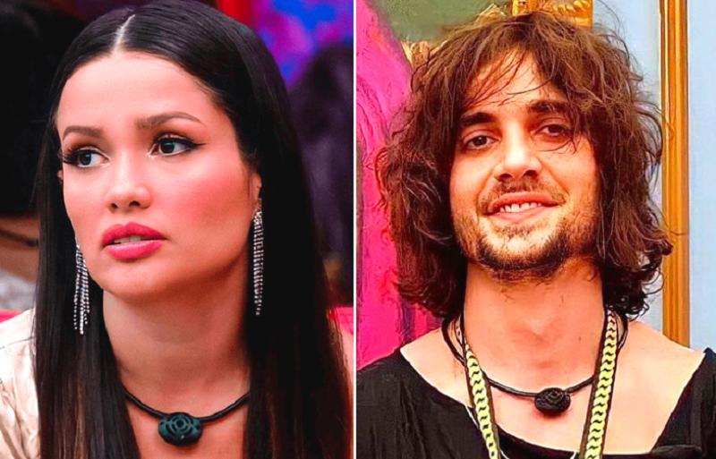 """""""A Juliette, se ela não 'arrengar'... É o oxigênio dela"""", disparou Fiuk. (Foto: Reprodução/ Globo)"""