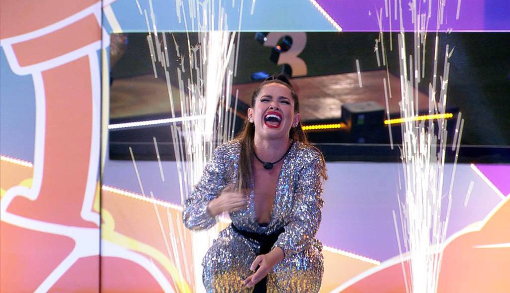 Juliette foi a grande campeã do BBB 21! (Foto: Reprodução/ Globo)