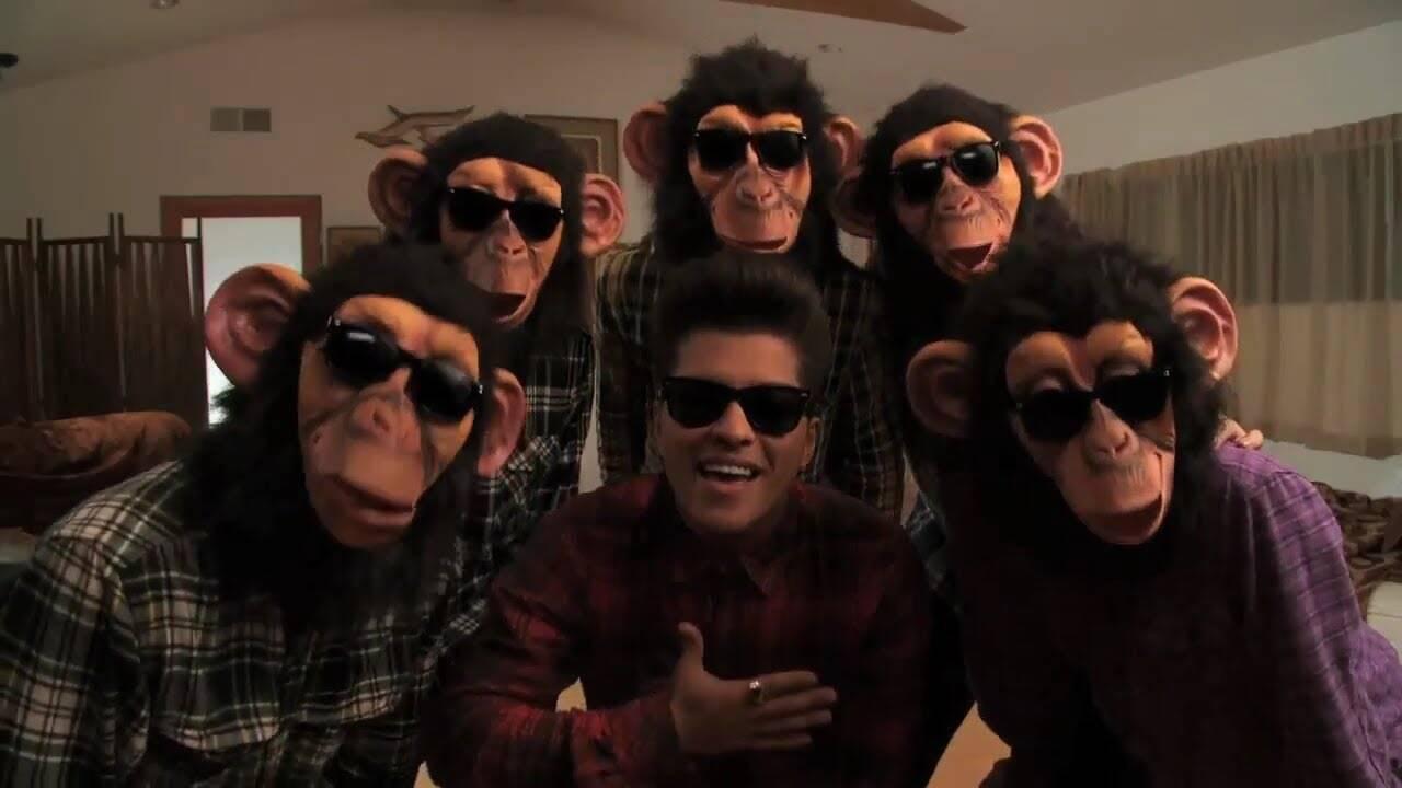The Lazy Song – Bruno Mars (Foto: Reprodução/ YouTube)
