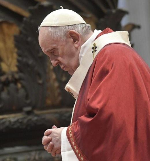 A brincadeira do Papa chamou atenção de toda a população brasileira (Foto: Instagram)