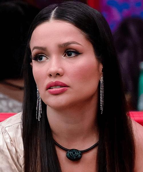 Juliette se defendeu e explicou que estava triste e preocupada com o resultado do Paredão. (Foto: Reprodução/ Globo)