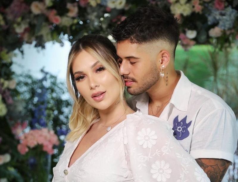Virginia e Zé Felipe se casaram no dia 26 de março. (Foto: Instagram)