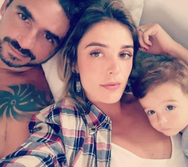 Seu filho, Rocco, tem três anos (Foto: Instagram)