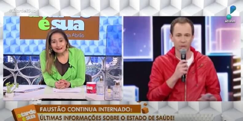 A apresentadora do 'A Tarde é Sua', da RedeTV!, foi só elogios a participação do jornalista no programa do último domingo, 13. (Foto: YouTube)