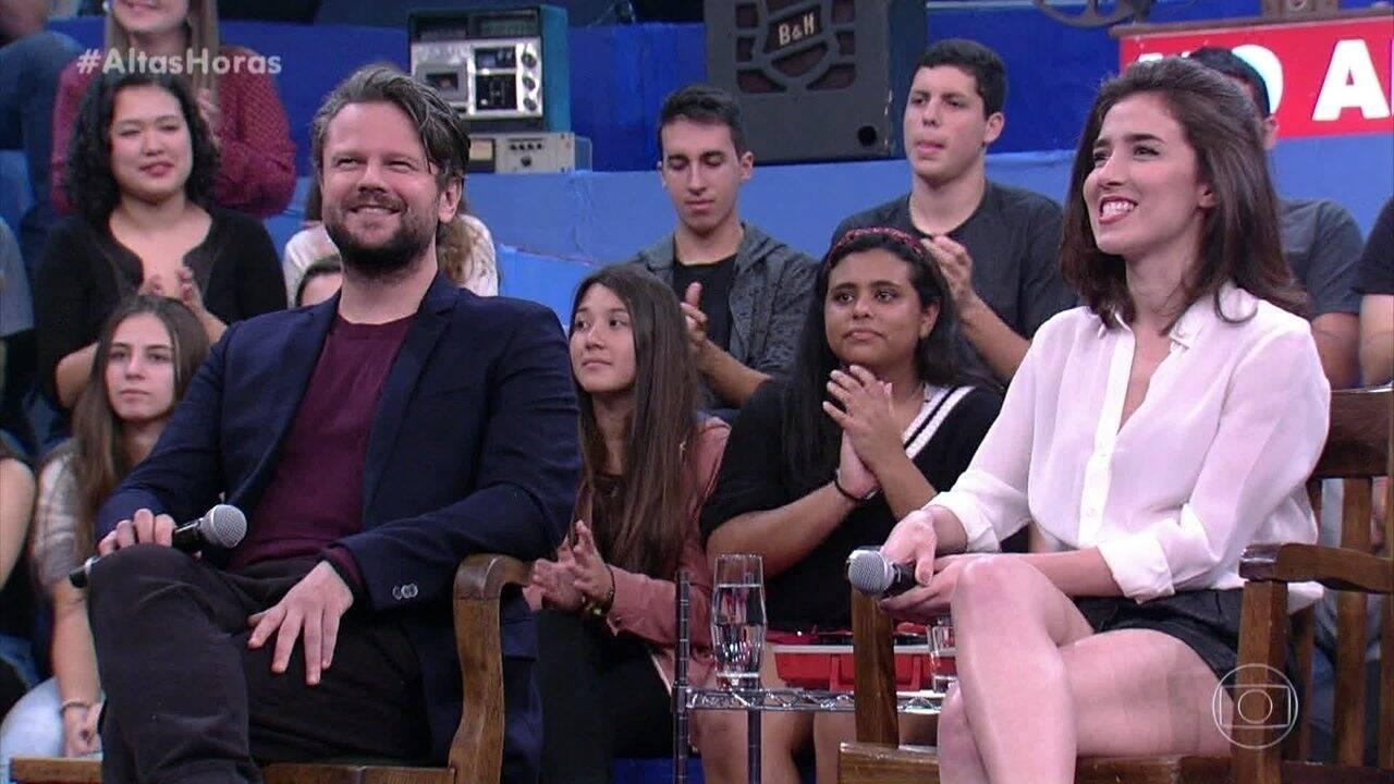 O ator é muito influente no meio artístico (Foto: Globo)